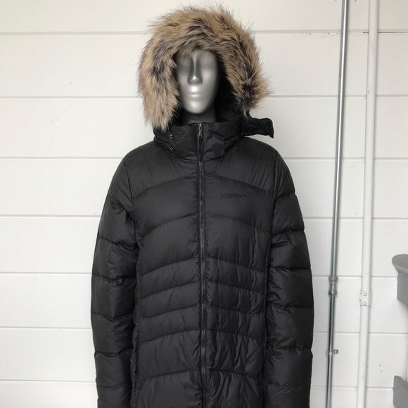 d956eda92 Authentic Womens Marmot Montreal Coat in Jet Black